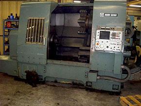 Mori Seiki SL6 Machine Tool Before