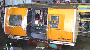 SLT 500 Cadet Machine Tool Before