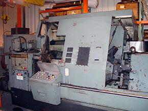 Warner & Swasey SC-28 Machine Tool Before