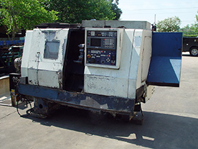 Mori Seiki SL-25 Machine Tool Before