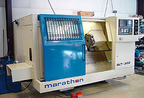 SL-320 Machine Tool After