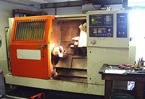 SL-320 Machine Tool Before