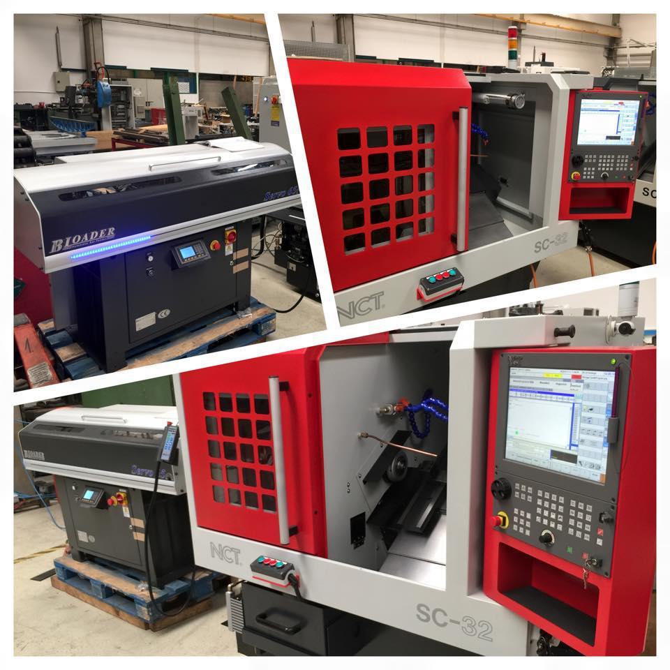 High Precision CNC Turning Center SC-32 & MX